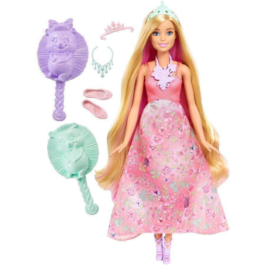 Barbie Dreamtopia Kampausprinsessa Vaalea