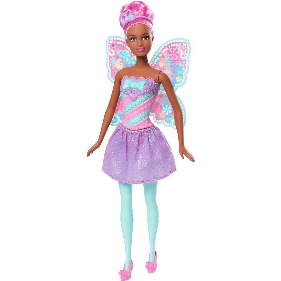 Barbie Dreamtopia Keiju Bonbon Keiju Pinkeillä Hiuksilla