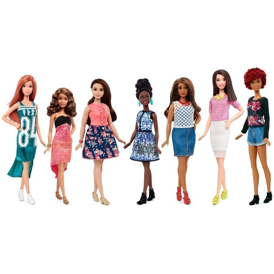 Barbie Fashionista Nukke Ja Muotivalikoima 1 Kpl