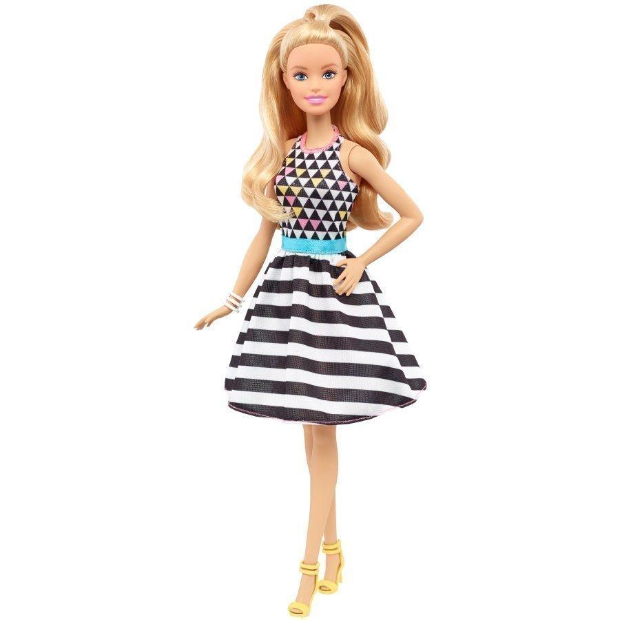 Barbie Fashionistas Mustavalkohameinen Barbie