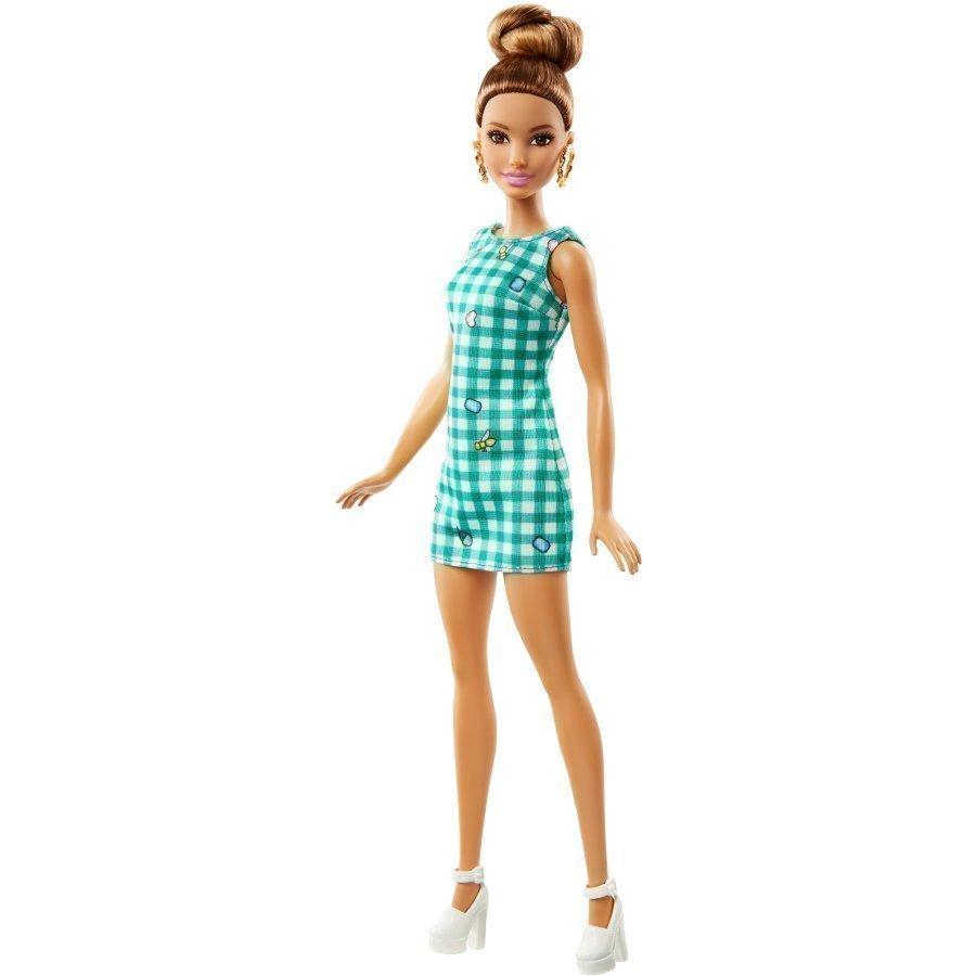 Barbie Fashionistas Ruutumekollinen Barbie