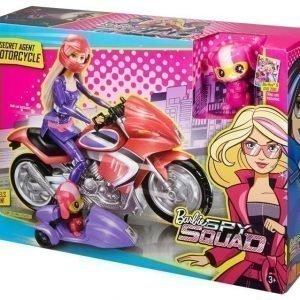 Barbie Spy Squad Secret Agent Moottoripyörä