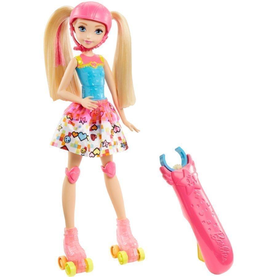 Barbie Videopelisankari Rullaluistelija