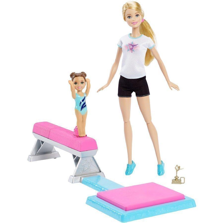 Barbie Voimistelija Ja Tarvikkeet