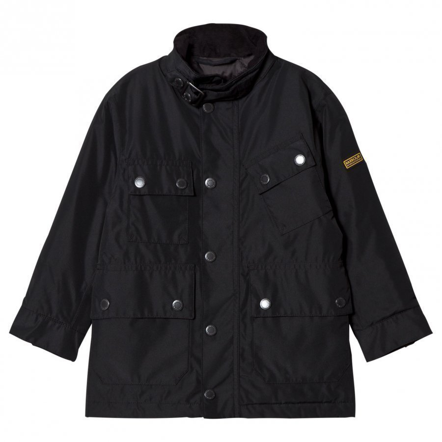 Barbour Black International Tyne Waterproof Padded Jacket Toppatakki