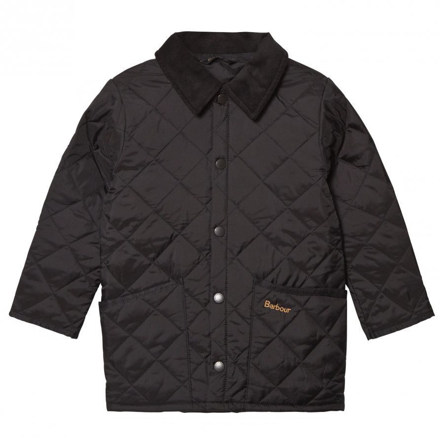 Barbour Black Liddesdale Quilted Jacket Tikkitakki