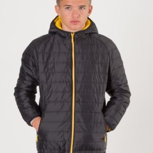 Barbour Locking Hooded Jacket Takki Musta