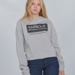 Barbour Logo Sweat Neule Harmaa