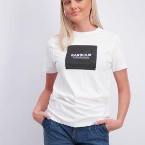 Barbour Logo Tee T-Paita Valkoinen