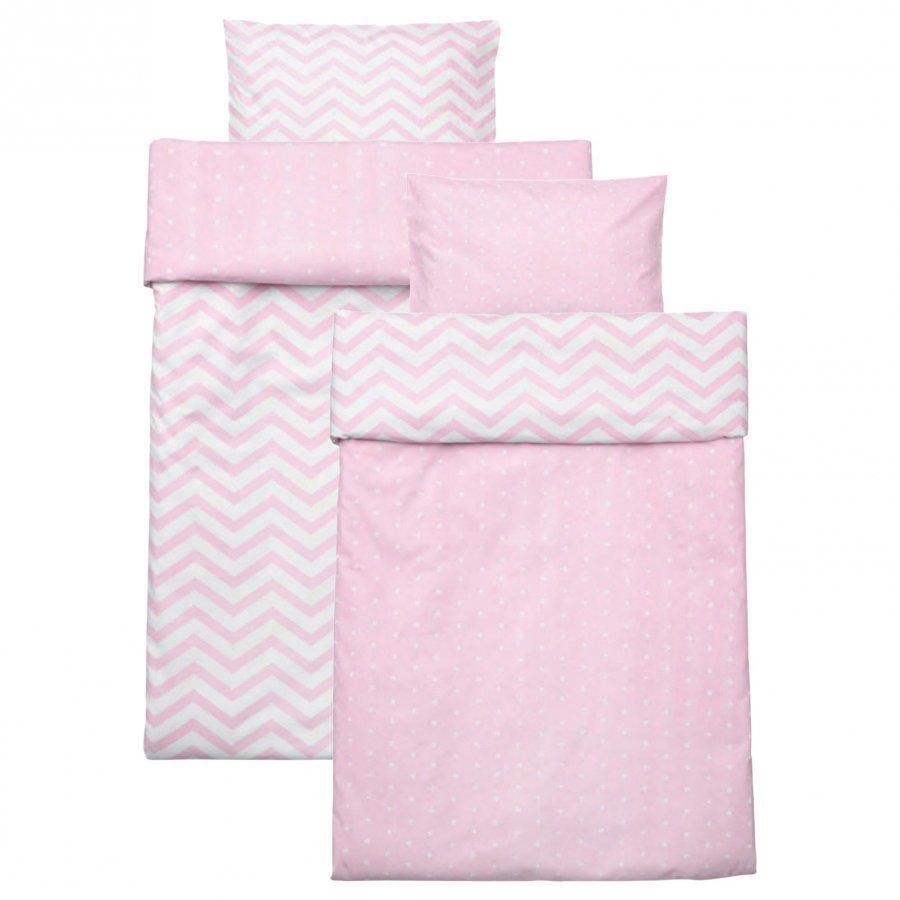 Barnkammaren Bed Set Pink Pussilakanasetti