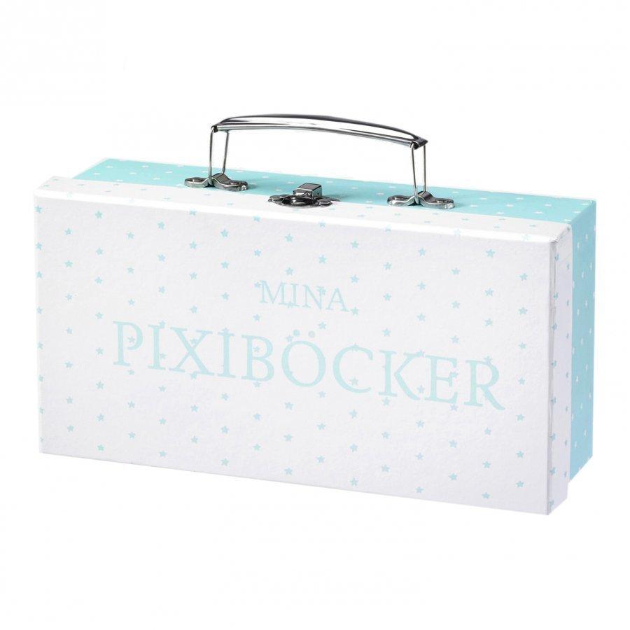 Barnkammaren Pixi Book Case Mint Säilytyslaatikko