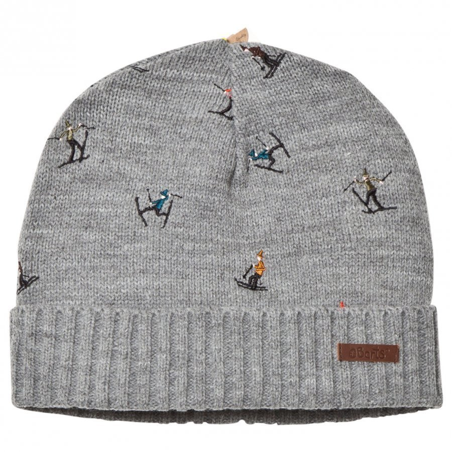 Barts Alpin Beanie Heather Grey Pipo