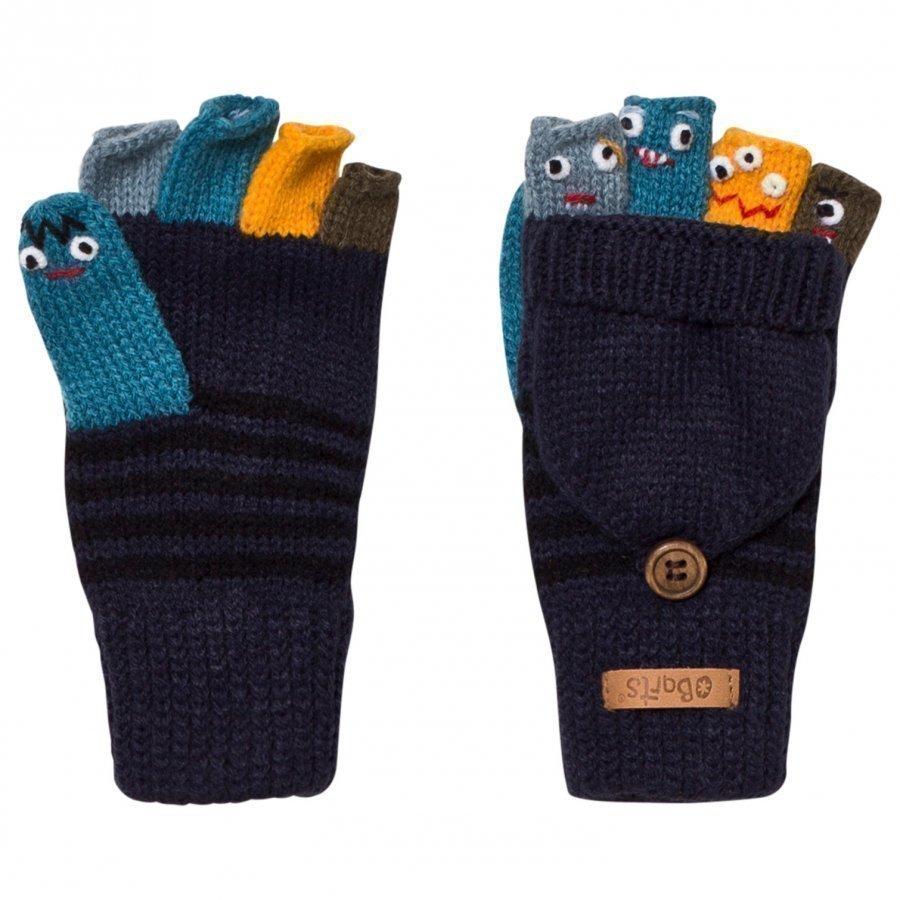 Barts Navy Puppet Bum Gloves Kynsikkäät