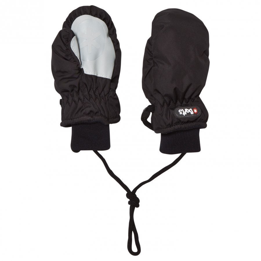 Barts Nylon Mittens Black Fleece Lapaset