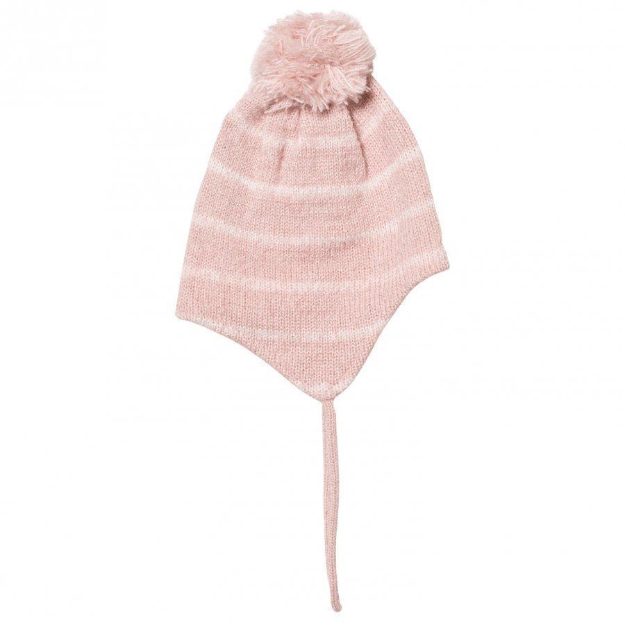 Barts Pink Stripey Ducky Inka Beanie Pipo