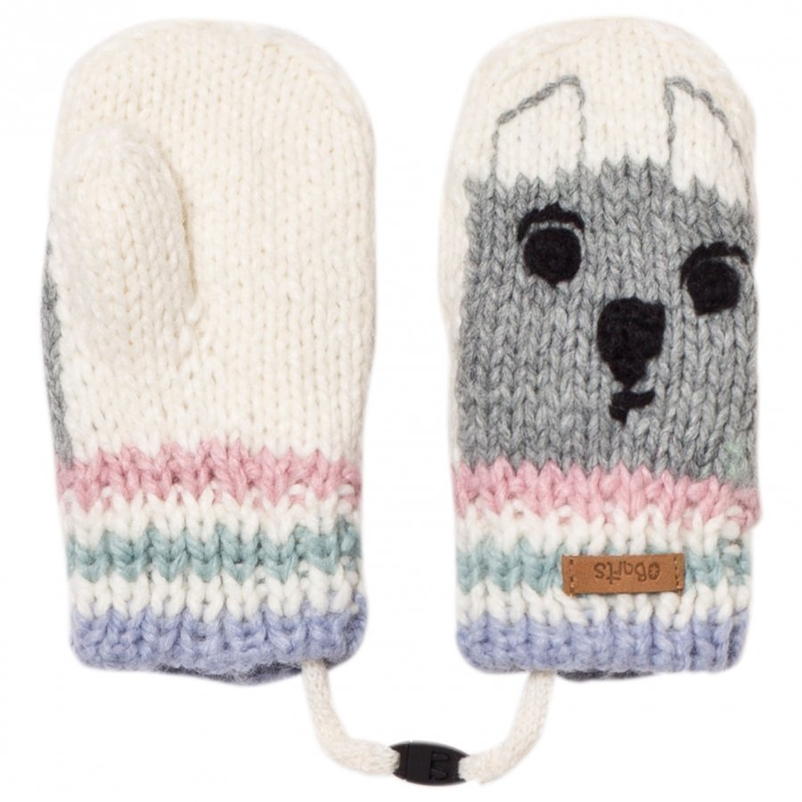 Barts White Bear Bouly Mittens Fleece Lapaset