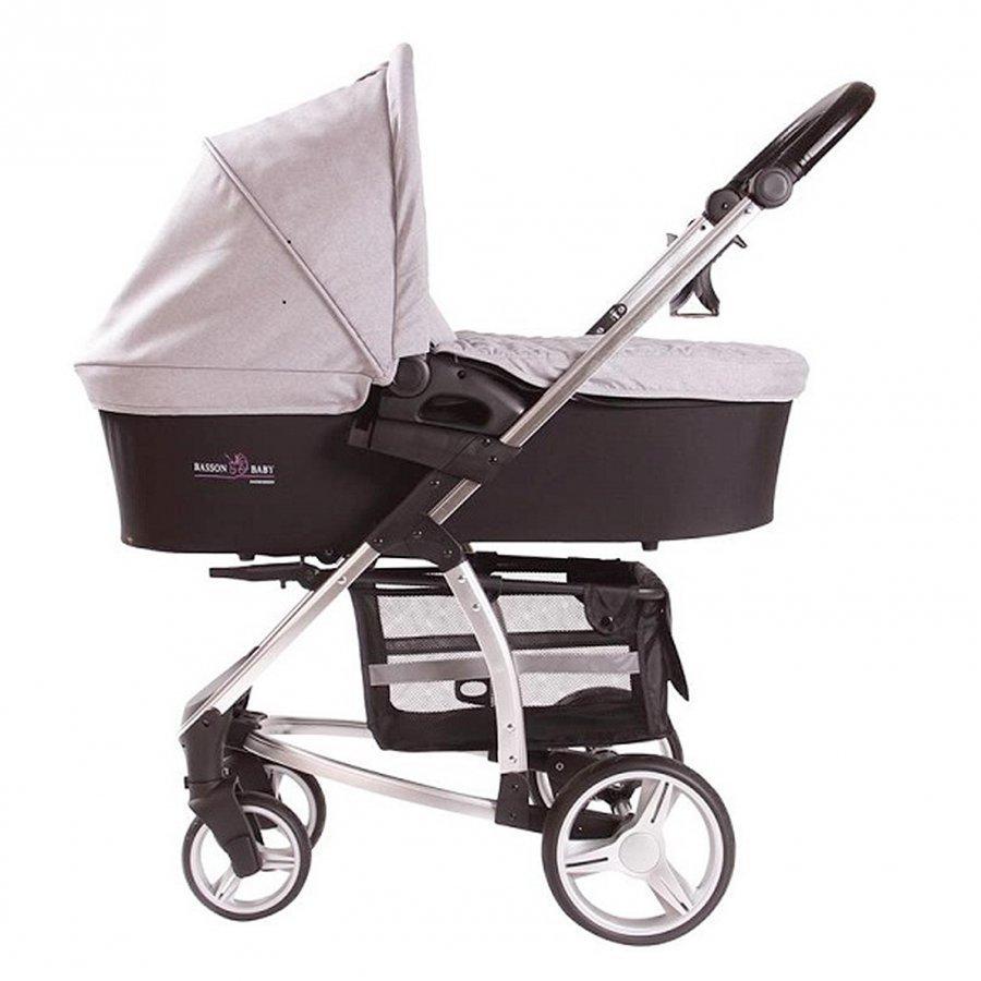 Basson Baby Combi Stroller Tour Grey Yhdistelmävaunut
