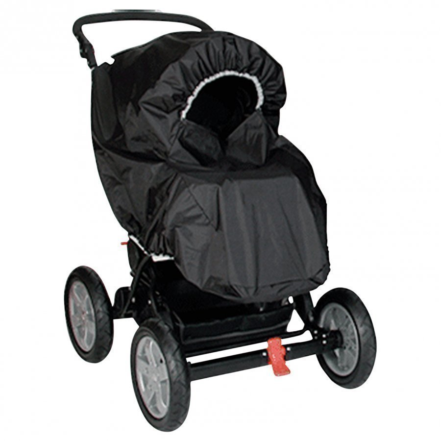 Basson Baby Rain Cover Twin Black Sadesuoja