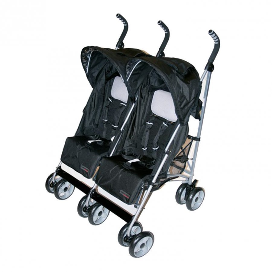 Basson Baby Travel Twin Sort Matkarattaat