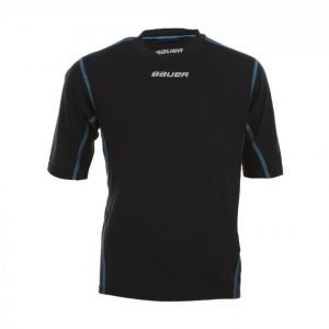 Bauer Ng Core Ss Base Layer Top Yth Aluskerrastopaita Musta