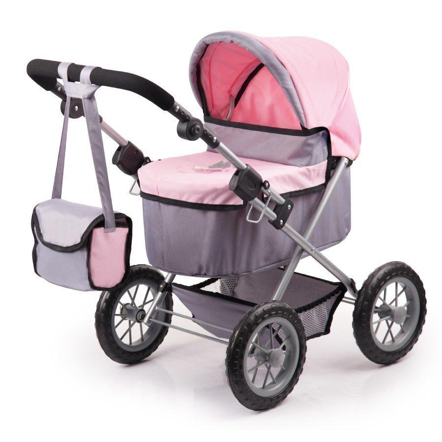 Bayer Design Nukenvaunut Trendy Harmaa / Vaaleanpunainen 1300800