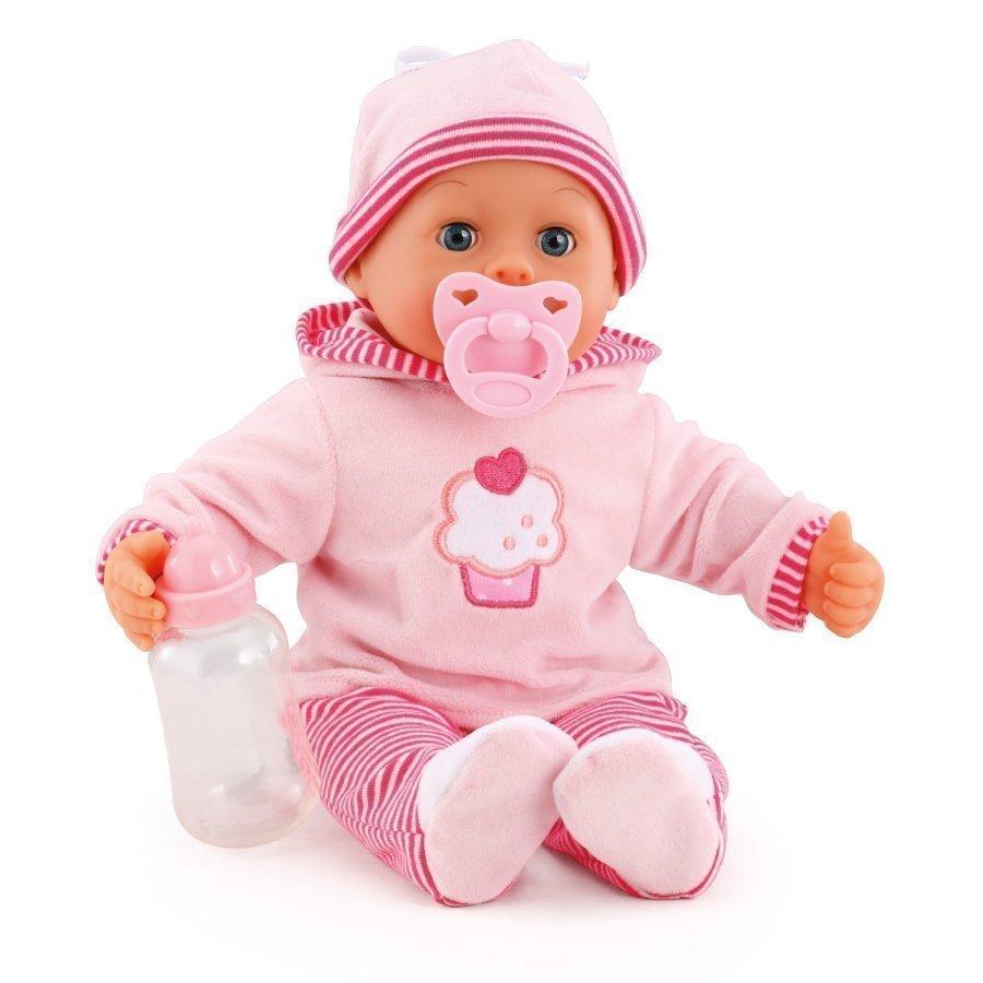 Bayer Design Nukke First Words Baby 38 Cm Vaaleanpunainen