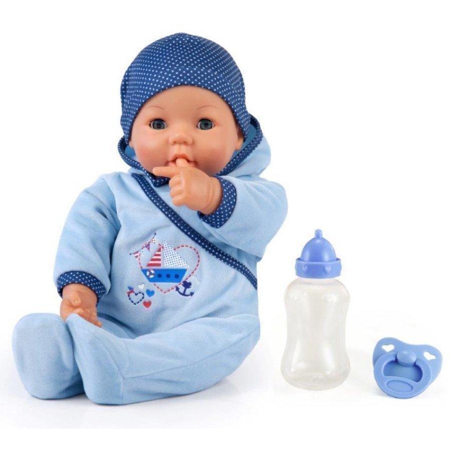 Bayer Design Vauvanukke Hello Baby 46 Cm Toimintoja