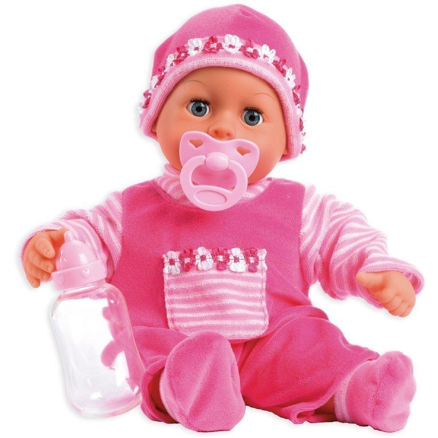 Bayer Design Vauvaukke First Words Baby 38 Cm Pinkki