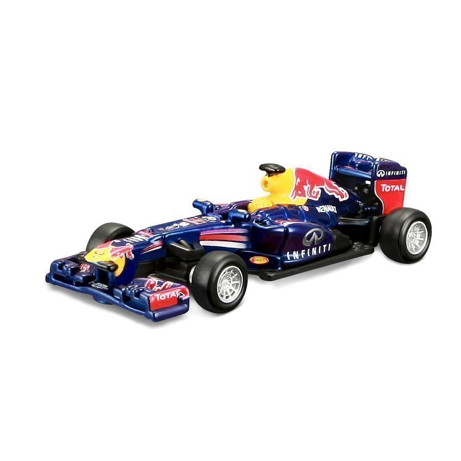 Bburago F1 Red Bull Race Team Sebastian Vettel 1:64