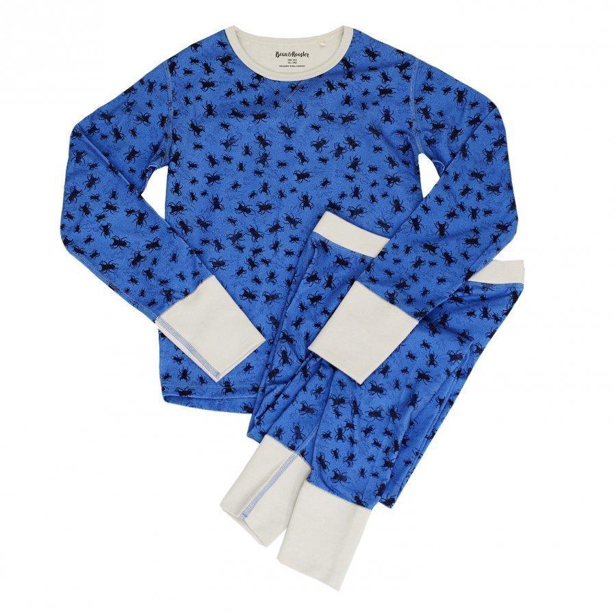 Beau & Rooster Bugs Pyjamas Federal Blue Yöpuku