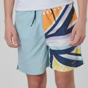 Ben Sherman Union Jack Sliced Swim Uimashortsit Sininen