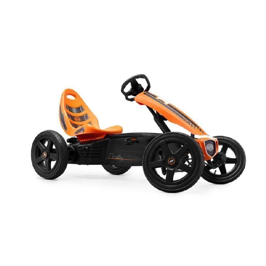 Berg Toys Pedal Go Kart Polkuauto Berg Rally Orange