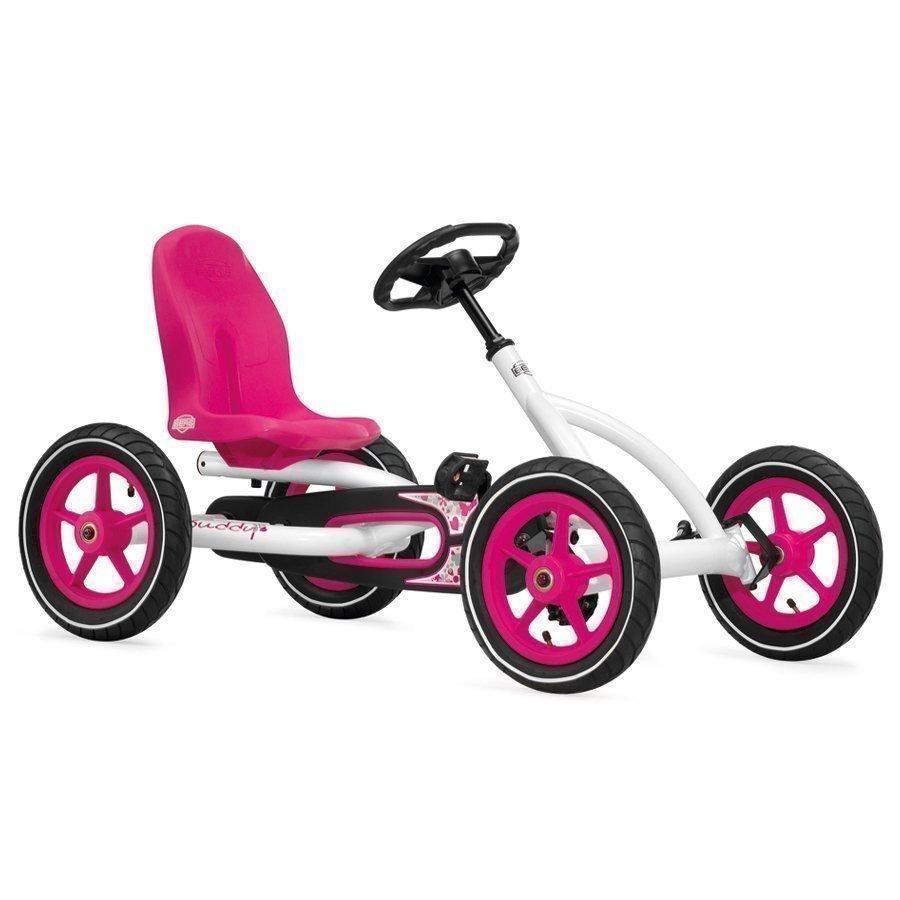 Berg Toys Pedal Go Kart Polkuauto Buddy White