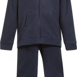 Bergans Fleeceasu Kids Navy/Frog