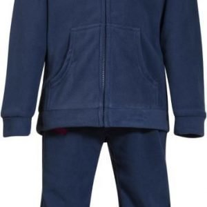 Bergans Fleeceasu Smådøl Kids Navy/Hot Pink