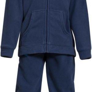 Bergans Fleeceasu Smådøl Kids Navy/Sea Blue
