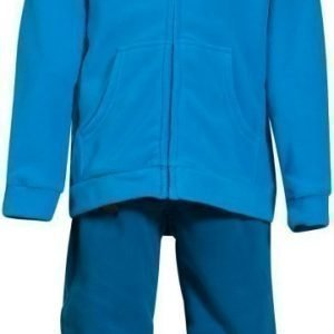 Bergans Fleeceasu Smådøl Kids Sea Blue/Orange