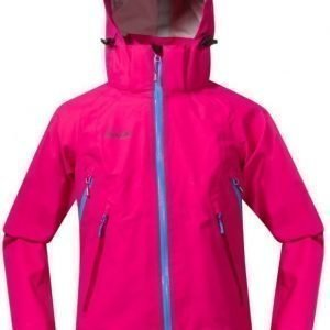 Bergans Kuoritakki Ervik Youth Girl Pink/Sea Blue/Cerise