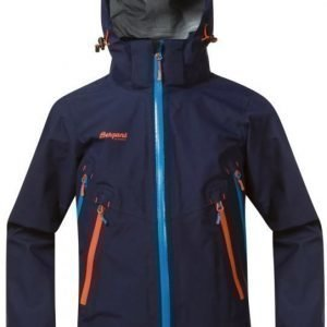 Bergans Kuoritakki Ervik Youth Navy/Sea Blue/Orange