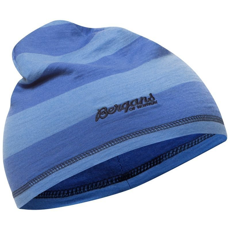 Bergans Pipo Fjellrapp Youth Skyblue Striped