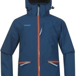 Bergans Takki Alme Insulated Youth Deep Sea/Orange/Sea Blue