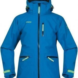 Bergans Takki Alme Insulated Youth Sea Blue/Navy