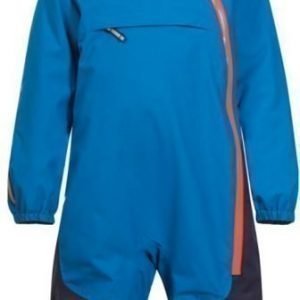 Bergans Talvihaalari Snøtind Insulated Kids Light Sea Blue/Navy/Koi Orange