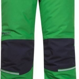 Bergans Toppahousut Storm Insulated Kids Frog/Navy