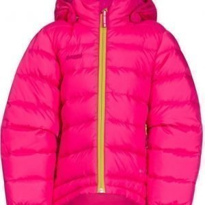 Bergans Untuvatakki Down Kids Hot Pink/Lime