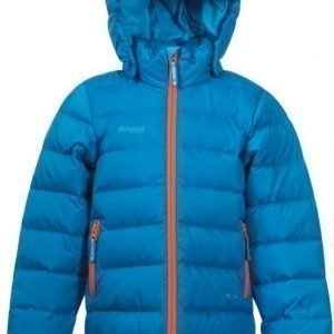 Bergans Untuvatakki Down Kids Sea Blue/Orange