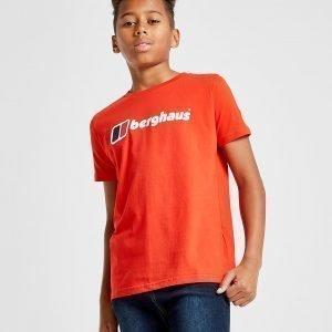 Berghaus Logo T-Shirt Punainen