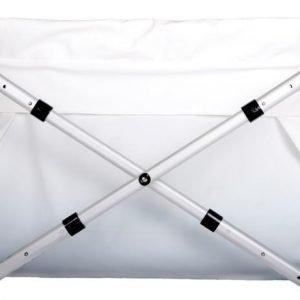 BiBaBath Flexi 80-100 cm Valkoinen