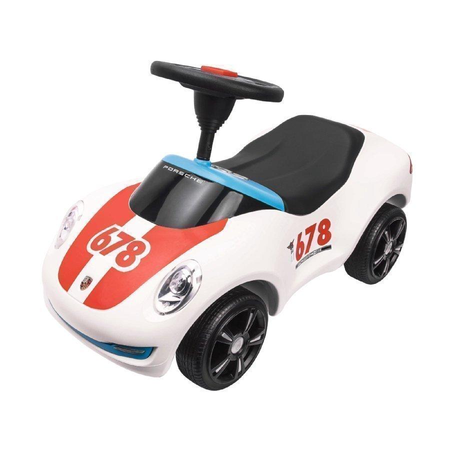 Big Baby Porsche Premium Potkuauto Valkoinen