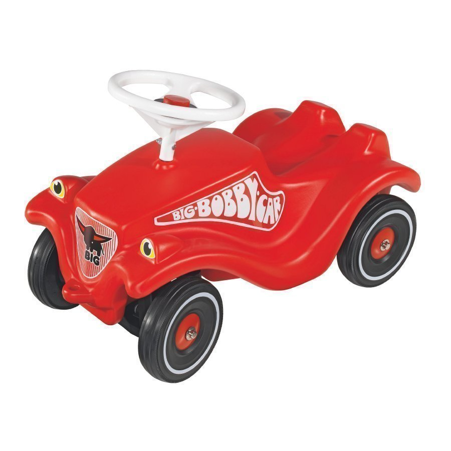 Big Bobby Car Classic Potkuauto + Shoe Care Kenkäsuojat Punainen